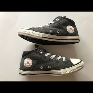 Converse Street Mid Top Trainers Youth Size 3